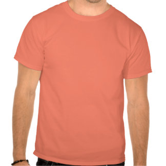 Orange Art Deco Stained Glass T Shirt