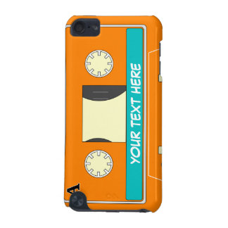 Orange Audio cassette with your text iPod Touch 5G Cover