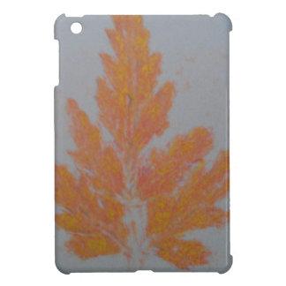 Orange Autumn Leaf iPad Mini Covers