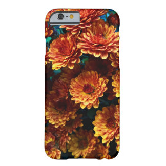 Orange Autumn Mums iPhone Case