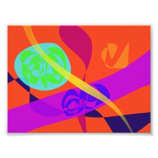 Orange Background Simple Digital Art Art Photo