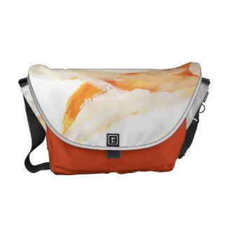 Orange - bag courier bags