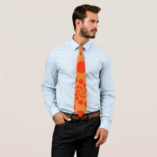 Orange balls tie