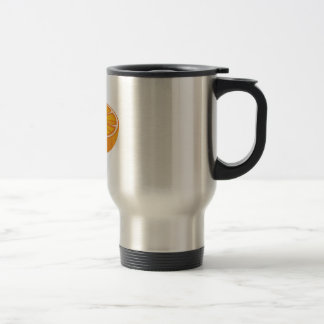 Orange_Base Stainless Steel Travel Mug