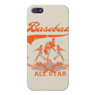 Orange Baseball All Star and Gifts Covers For iPhone 5