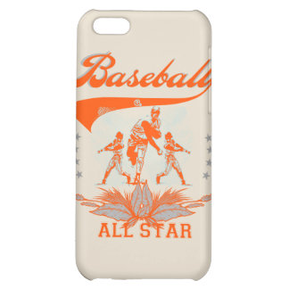 Orange Baseball All Star and Gifts iPhone 5C Cases