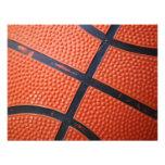 Orange Baseket Ball Personalized Invitation
