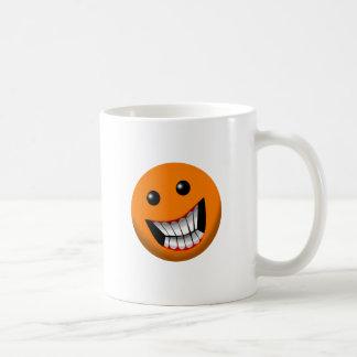 Orange Basic White Mug