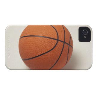 Orange basketball, close-up iPhone 4 Case-Mate cases