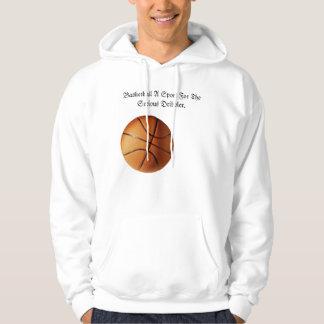 Orange Basketball Serious Dribbler Logo, Hoodie