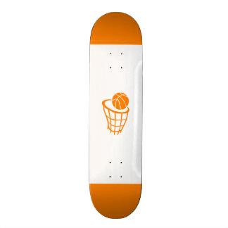 Orange Basketball Skate Decks
