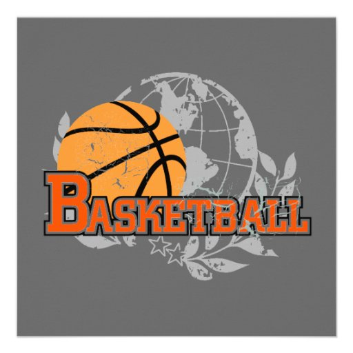 Orange Basketball T-shirts and Gifts Announcements