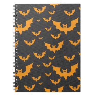 Orange Bats Notebooks