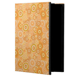 Orange Beach Sunset Circles iPad Case