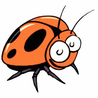 Orange Beetle Cartoon Car / Refrigerator Magnet Photo Sculpture Magnet