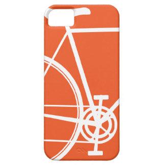 Orange Bicycle iPhone 5 Case