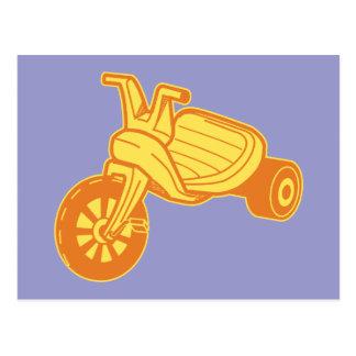 Orange Big Wheel Post Card