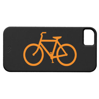Orange Bike Case For The iPhone 5