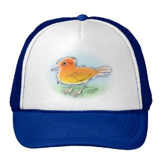 orange bird cap