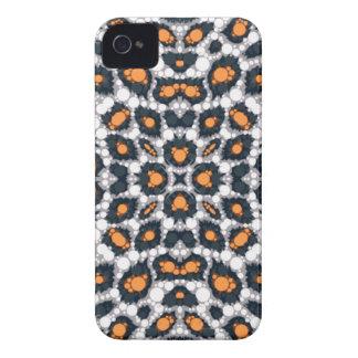Orange Black Cheetah Case-Mate iPhone 4 Cases