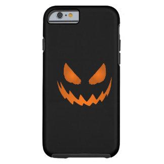 Orange & Black Jack-O-Lantern iPhone 6 case