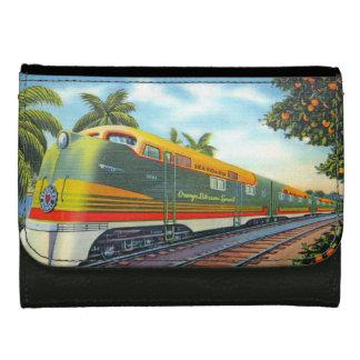 Orange Blossom Special Diesel Locomotive Leather Wallets