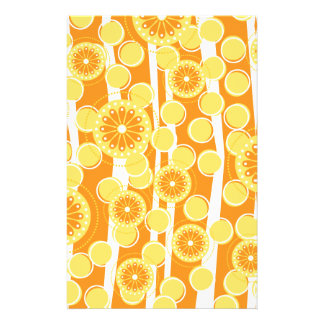 Orange Blossom Special Personalized Stationery