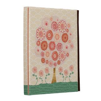 Orange Blossom Tree IPAD Caseable Folio Case iPad Folio Cover