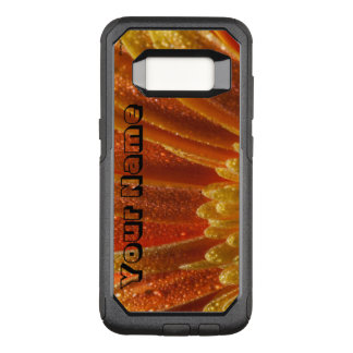 Orange Blossom with colorful petals OtterBox Commuter Samsung Galaxy S8 Case