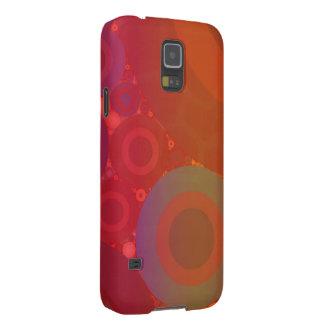 Orange Blue Green Faded Retro Galaxy S5 Case