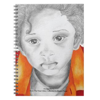 Orange Boy 1 Notebook