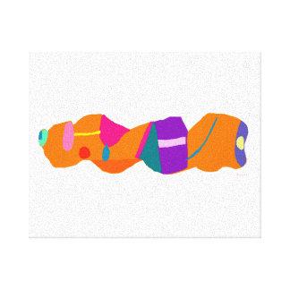 Orange Bread Canvas Print