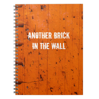 Orange Brick - Atom Of Creation Notebooks