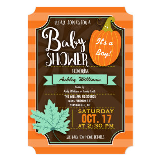 Autumn Baby Showers