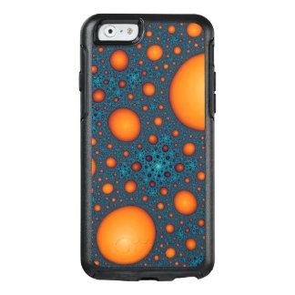 Orange bubbles OtterBox iPhone 6/6s case