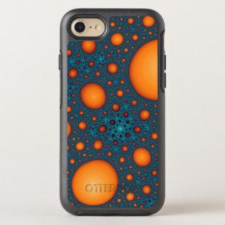 Orange bubbles OtterBox symmetry iPhone 8/7 case