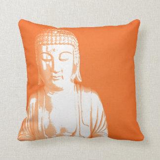 orange Buddha Gautama Cushion