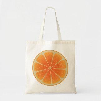 Orange Budget Tote Bag