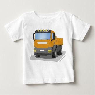 orange building sites truck baby T-Shirt