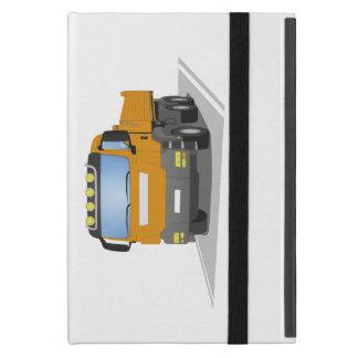 orange building sites truck case for iPad mini