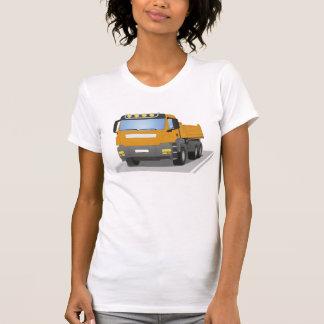 orange building sites truck T-Shirt