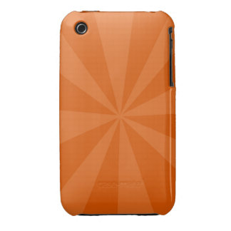 Orange Burst iPhone 3 Case-Mate Case