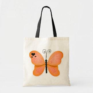 Orange Butterfly Bag