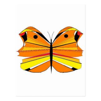 Orange Butterfly Postcards