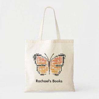 Orange Butterfly Word Art Library
