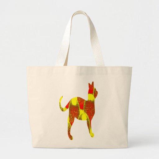 Orange Cacti Cat Bags