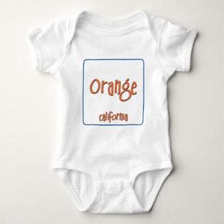 Orange California BlueBox T-shirt