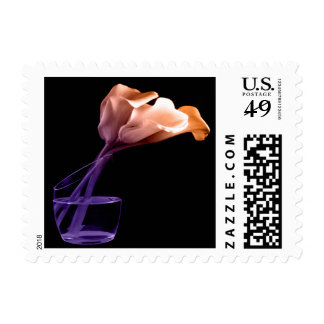 Orange Calla Lily Event Theme Wedding Postage