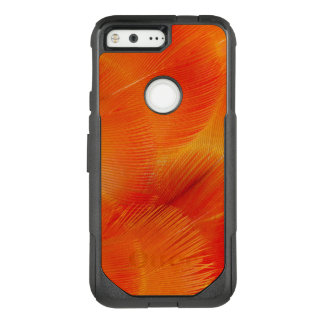 Orange Camelot Macaw Feather Abstract OtterBox Commuter Google Pixel Case