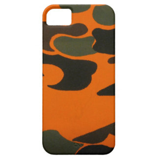 Orange Camo case for iPhone 5
